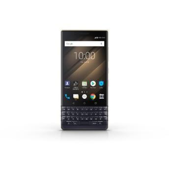 BlackBerry KEY2 LE Champagne シャンパンゴールド「PRD-65004-085」4.5型 メモリ/ストレージ:4GB/64GB nanoSIM x2 FMラジオ対応 ドコモ/ソフトバンク対応 SIMフリースマートフォン PRD-65004-085