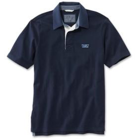 ジャパン・フィット レイクウォッシュ・ラグビー・シャツ、半袖/Japan Fit Lakewashed Rugby Shirt Short-Sleeve