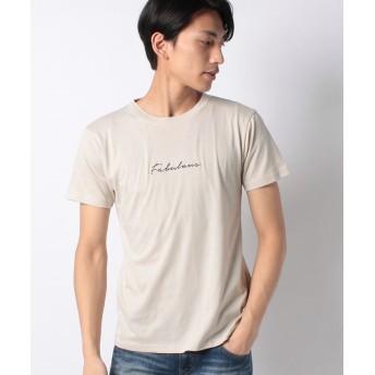 マルカワ 刺繍 サガラ 半袖Tシャツ メンズ 柄2 L 【MARUKAWA】