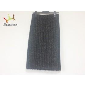 ドレステリア DRESSTERIOR ロングスカート サイズ38 M レディース 黒×グレー     スペシャル特価 20190802