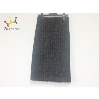 ドレステリア DRESSTERIOR ロングスカート サイズ38 M レディース 黒×グレー スペシャル特価 20190904