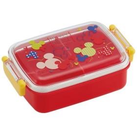 ミッキー ディズニー 弁当箱 / 食洗機対応 ふわっとフタ タイトランチボックス 450ml Mickey カラフルポップ ミッキーマウス
