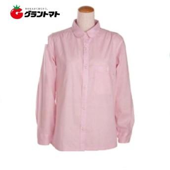 農家さんブラウス コードレーン(ピンク) フリーサイズ のらスタイル ユニワールド