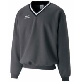 スウェットシャツ(08ダークグレー)【MIZUNO】ミズノテニス ウエア スウェットスーツ(A75LM25008)