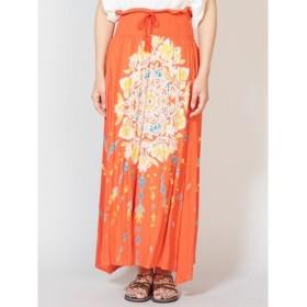 [マルイ] 【チャイハネ】yul 曼荼羅模様ロングスカート/チャイハネ(CAYHANE)
