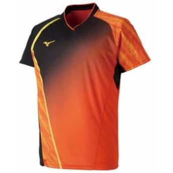 ゲームシャツ(ラケットスポーツ)【MIZUNO】ミズノテニス ウエア ゲームウエア(72MA8004)