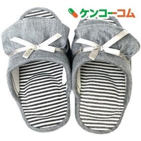ニッポンスリッパ フリルダイエット 21cm グレー ( 1足 )