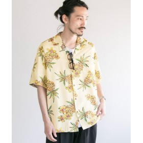 【60%OFF】 アーバンリサーチ TWO PALMS×URBAN RESEARCH 別注aloha shirts メンズ LYELLOW M 【URBAN RESEARCH】 【タイムセール開催中】