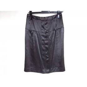 【中古】 トゥモローランド TOMORROWLAND スカート サイズ36 S レディース ダークグレー