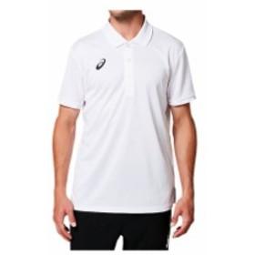 OPポロシャツ(ブリリアントホワイト)【ASICS】アシックス(2031A674)