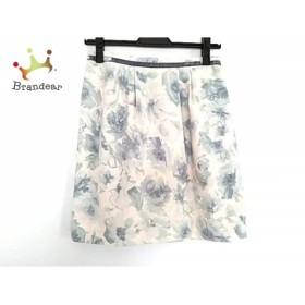 アプワイザーリッシェ Apuweiser-riche スカート サイズ2 M レディース 花柄     スペシャル特価 20190731