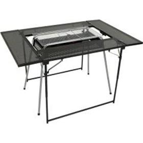 (送料無料)Alpine DESIGN(アルパインデザイン)キャンプ用品 キッチンテーブル 一体型テーブル マルチBBQテーブル AD-S19-015-029 ブラック