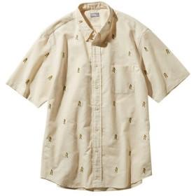 ノースフェイス(THE NORTH FACE) メンズ ショートスリーブヒムルートシャツ S/S Him Route Shirt ビンテージホワイト NR21956 VW 半袖 トップス ボタンシャツ