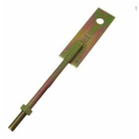 ハイロジック 公団羽子板 ナット付 12×280mm (F084)