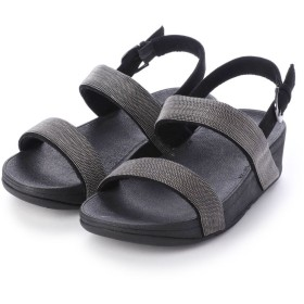 フィットフロップ fitflop LOTTIE SHIMMERMESH SANDAL (Black)