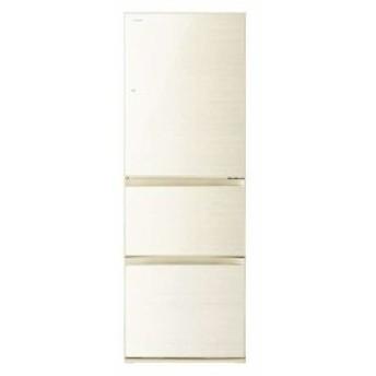 東芝 GR-R36SXVL-ZC VEGETA 3ドア冷蔵庫(363L・左開き) ラピスアイボリー (GRR36SXVLZC)