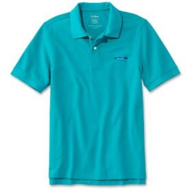 ジャパン・フィット プレミアム・ダブル・エル・ポロシャツ、半袖 カタディン・ロゴの刺繍入り/Japan Fit Embroidered Double L Polo Shirt Short-Sleeve Katahdin Logo