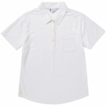 アイスタッチ半袖ポロシャツ レディース【MIZUNO】ミズノウォーキング ウエア シャツ(B2JA8243)