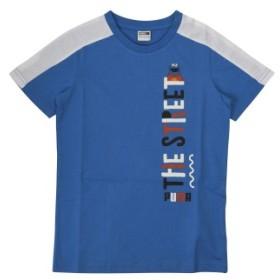 キッズ 【PUMA ウェア】 プーマ ウェア セサミ SS Tシャツ B 854476 27INDIGOBUNTING 152