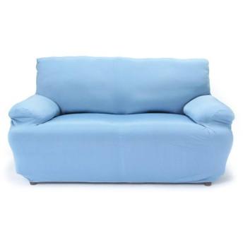 接触冷感ソファカバー ブルー ホームコーディコールド 2人掛け カウチソファ・コーナーソファ
