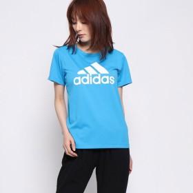 アディダス adidas レディース 半袖機能Tシャツ W MH 半袖 ビッグロゴ Tシャツ DV0708
