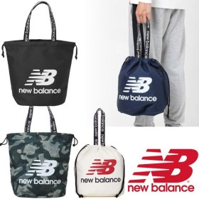 トートバッグ 巾着タイプ 手提げ バッグ レディース メンズ ニューバランス NewBalance キンチャクバッグ/ビッグロゴ/JABL9406