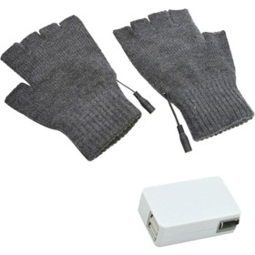 サンコー USB指までヒーター手袋2 USB-ACアダプタセット TKUSBWGGXUAC221 (1コ)