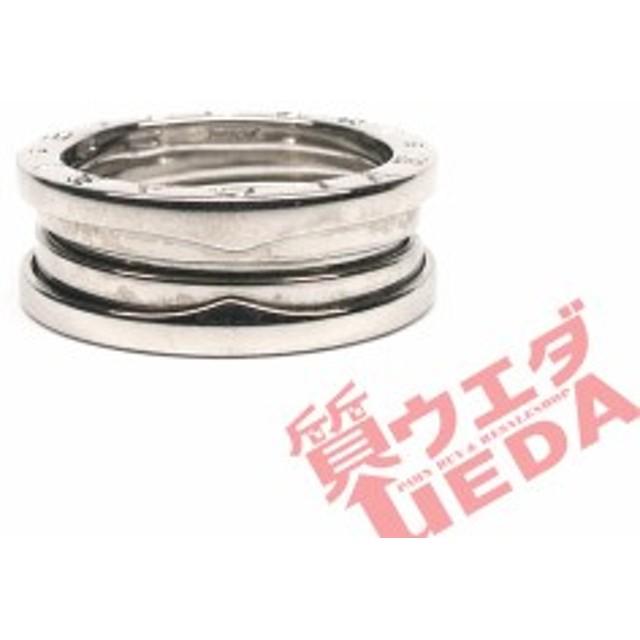dec7942c910c 【名古屋】ブルガリ ビーゼロワン B-zero1 リング 指輪 750WG ホワイトゴールド 54号