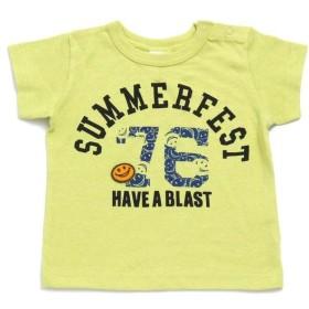 【53%OFF】 エフオーオンラインストア 4色2柄Tシャツ レディース ライム 80 【F.O.Online Store】 【セール開催中】