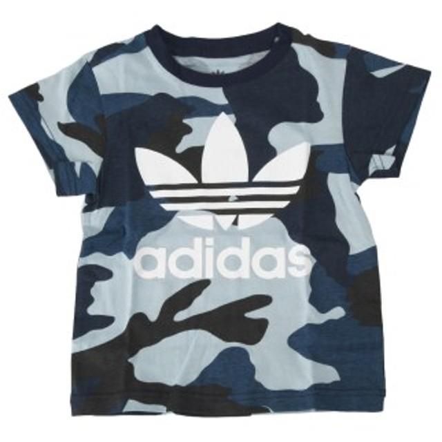 キッズ 【ADIDAS ウェア】 アディダスウェア Tシャツ K CAMO TEE カモ Tシャツ DW3847 MULTIC/WHT 110