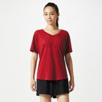 ロゴTシャツ レディース【MIZUNO】ミズノトレーニングウエア ミズノトレーニング Tシャツ/ポロシャツ(32MA8312)