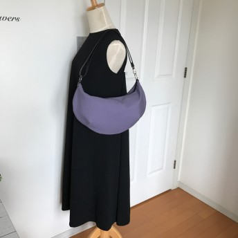 + 2way 軽量バッグ + シンプルデザイン ☆ 紫