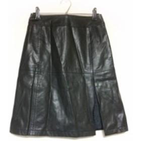 クミキョク 組曲 KUMIKYOKU スカート サイズ1 S レディース 美品 黒【中古】