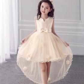 dd57547ce4f33 110-160子供ドレス フォーマル ドレス 演出 お姫様 お嫁さん フラワーガール ドレス ジュニア ワンピース