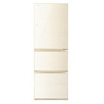 東芝 GR-R36SXV-ZC VEGETA 3ドア冷蔵庫 (363L・右開き) ラピスアイボリー (GRR36SXVZC)