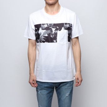Tシャツ - GUESS【WOMEN】 [GUESS] MASON GRAPHIC LEAF CREW TEE