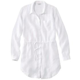 プレミアム・ウォッシャブル・リネン・シャツ、ドローストリング・チュニック/Premium Washable Linen Drawstring Tunic