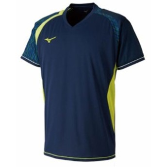 ゲームシャツ(ラケットスポーツ)【MIZUNO】ミズノテニス ウエア ゲームウエア(72MA8007)