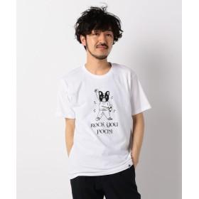 【32%OFF】 フレディアンドグロスター ROCK YOU POCHI Tシャツ メンズ ホワイト L 【FREDY & GLOSTER】 【セール開催中】