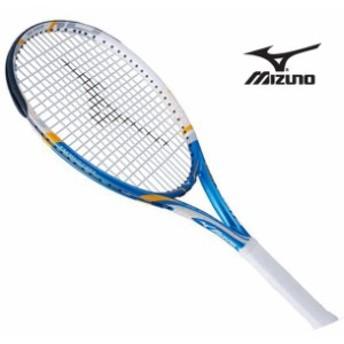 『フレームのみ』テニスラケット Fエアロ 108(27ブルー×ホワイト)【MIZUNO】ミズノテニス ラケット Fシリーズ(63JTH60527)