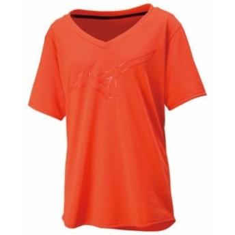 ロゴTシャツ(レディース)【MIZUNO】ミズノトレーニングウエア ミズノトレーニング Tシャツ/ポロシャツ(32MA8312)