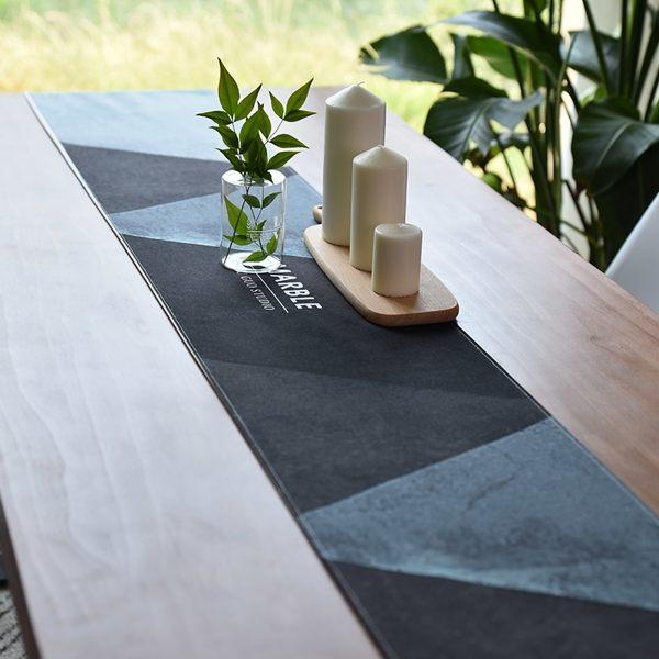 時尚可愛空間餐桌布 茶几布 隔熱墊 鍋墊 杯墊 餐桌巾桌旗680 (32*180cm)