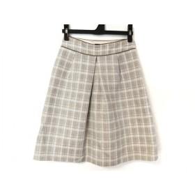 【中古】 バーバリーブラックレーベル Burberry Black Label スカート サイズ36 S レディース チェック柄