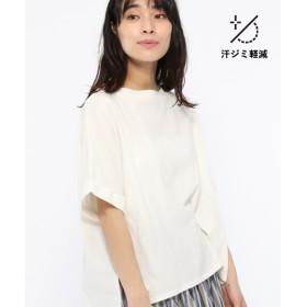 (LAKOLE/ラコレ)【汗ジミ軽減】サイドスリットワイドTシャツ/ [.st](ドットエスティ)公式