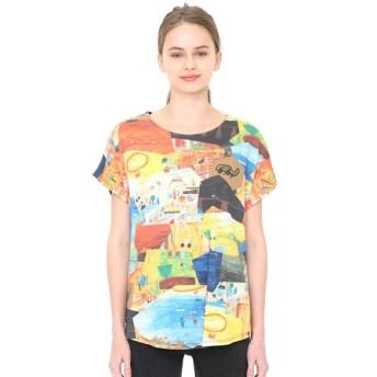 [マルイ]【セール】【レディース】コラボレーションTシャツ/たいようオルガンコラージュ(荒井良二)/グラニフ(graniph)
