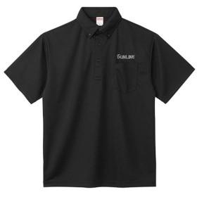 サンライン ドライポロシャツ SUW-1382P ブラック M