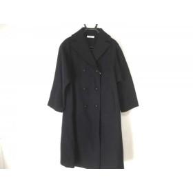 【中古】 エルマフロディット Hermaphrodite Pコート サイズ2 M レディース 黒