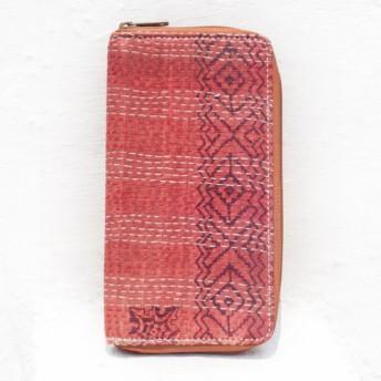 母の日バレンタインの日ギフト新年の贈り物国の風の森クリスマスプレゼント手刺繍の財布手縫いのサリーの布の財布シルクの刺繍ロングクリ