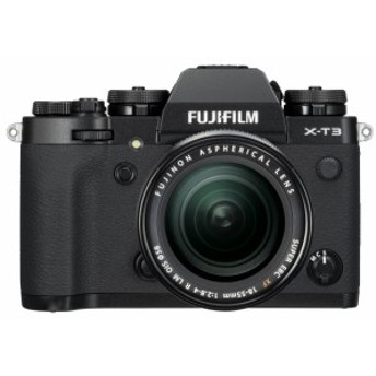 FUJIFILM X-T3 レンズキット [ブラック]【お取り寄せ(10日~2週間半程度)での入荷、発送】