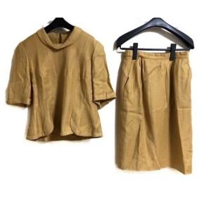 【中古】 ジュンアシダ JUN ASHIDA スカートセットアップ サイズ11 M レディース イエロー
